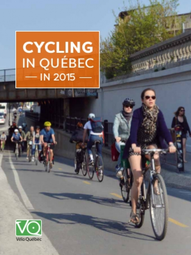 Cycling in Québec in 2015